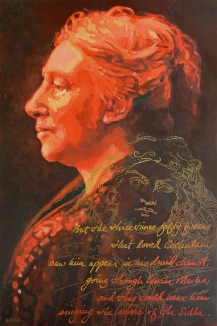 Lady Gregory by Barrie Maguire on ArtClick.ie