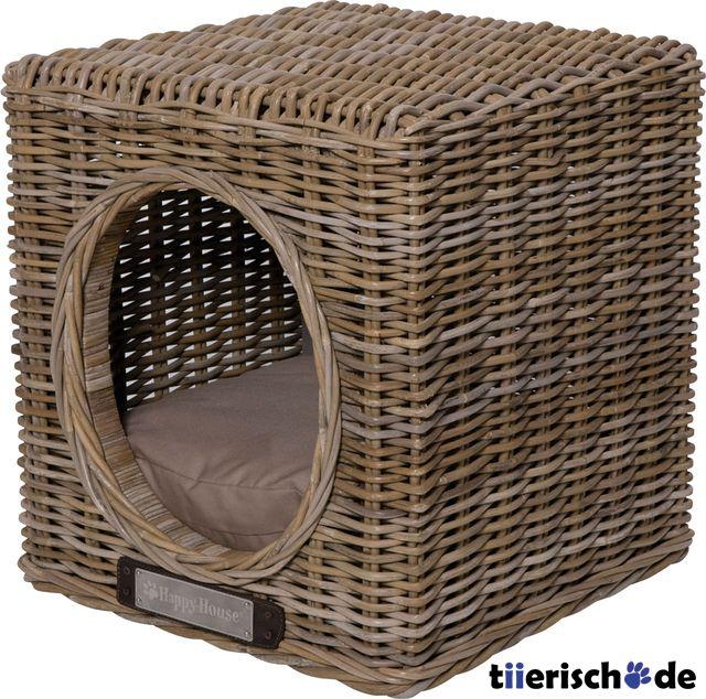 Hundehöhle Katzenhöhle aus Rattan