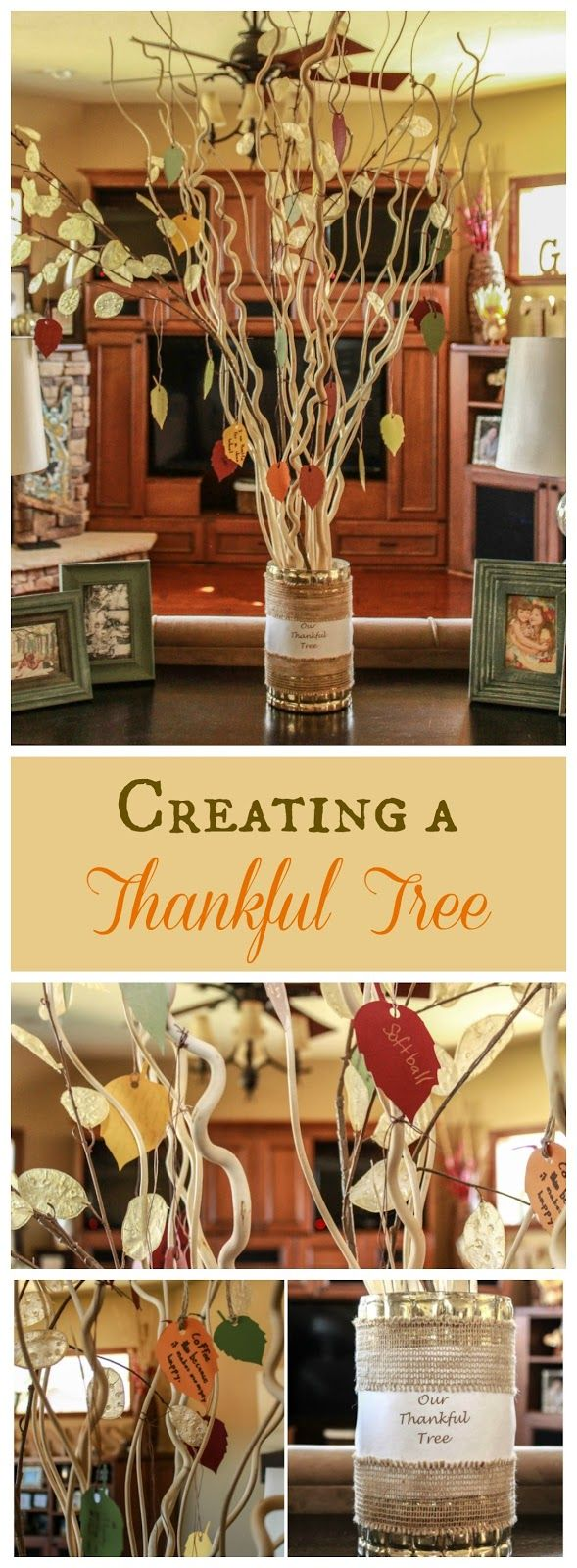 Easy & Festive Thanksgiving Decorations #Thanksgiving #decor #decorating #thanksgivingdecorations #autumn #fall #autumndecorations #falldecorations #craft #crafting