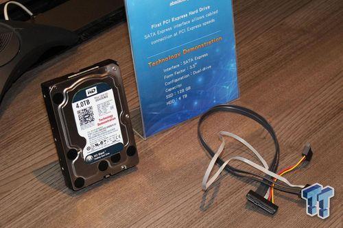 [Computex] Un disque hybride de 4 To en SATA-Express à 695 Mo/s