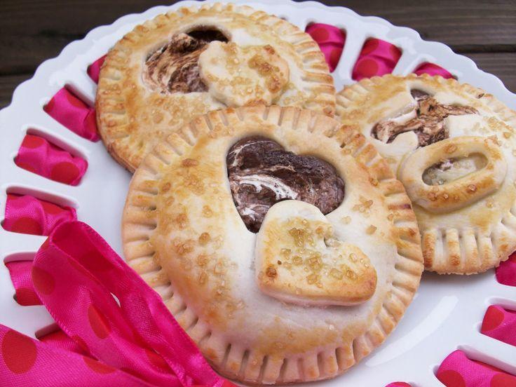 Marshmallow Nutella Hand Pies #lovethepie