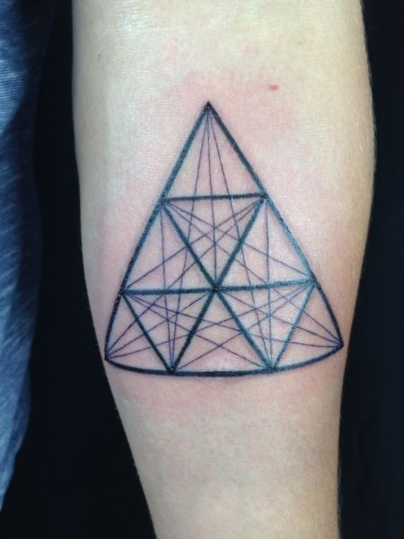 144 best images about geometric on pinterest triangle for Blood poisoning tattoo