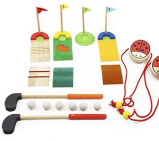 Set Golf+andas. www.alugarparabrincar.com