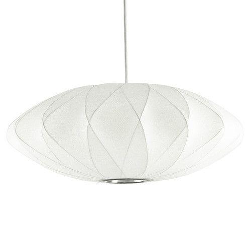 Fosani Lighting Replica George Nelson Bubble Lamp Criss Cross Saucer Pendant Light