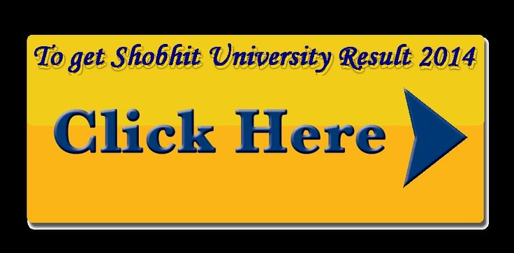 Shobhit University Result 2014 of BA,BBA,MA,MBA,B.Sc,M.Sc online