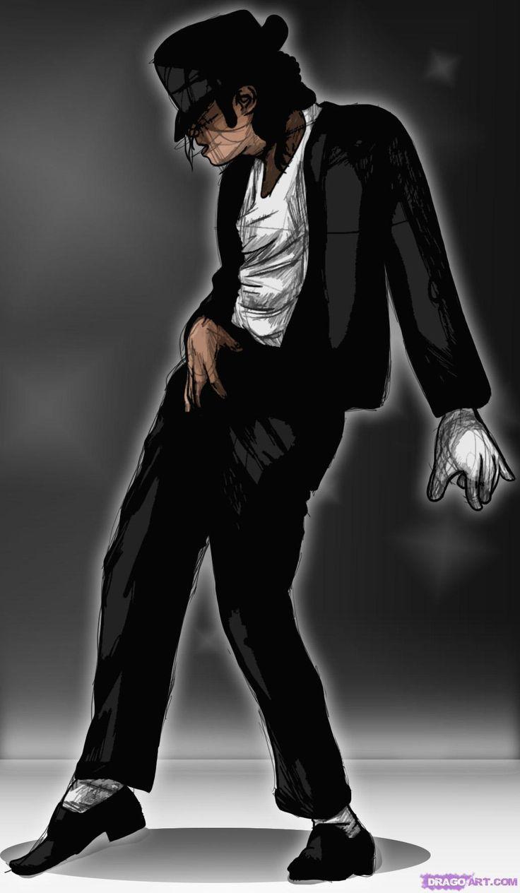 Como desenhar a Michael Jackson