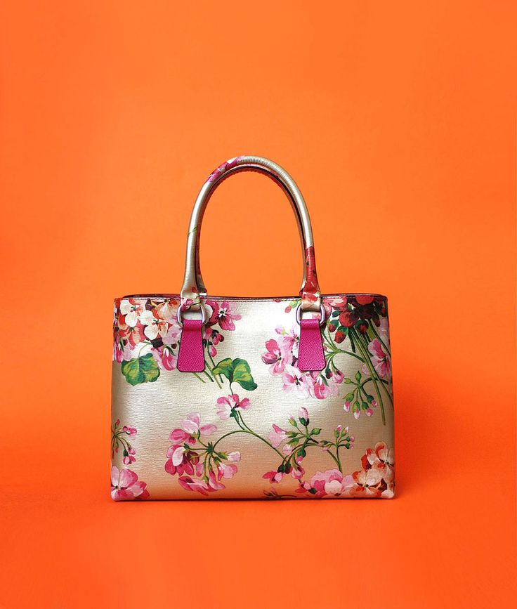 Otenberg flora print leather bag s2015 #otenberg #fashion #bags
