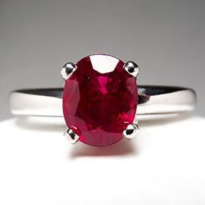 Resultado de imagen para simple ruby rings