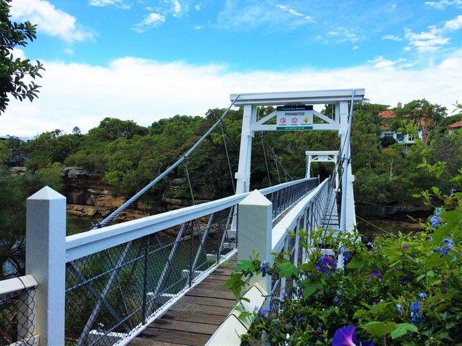 Parsley Bay Suspension Bridge, Vaucluse
