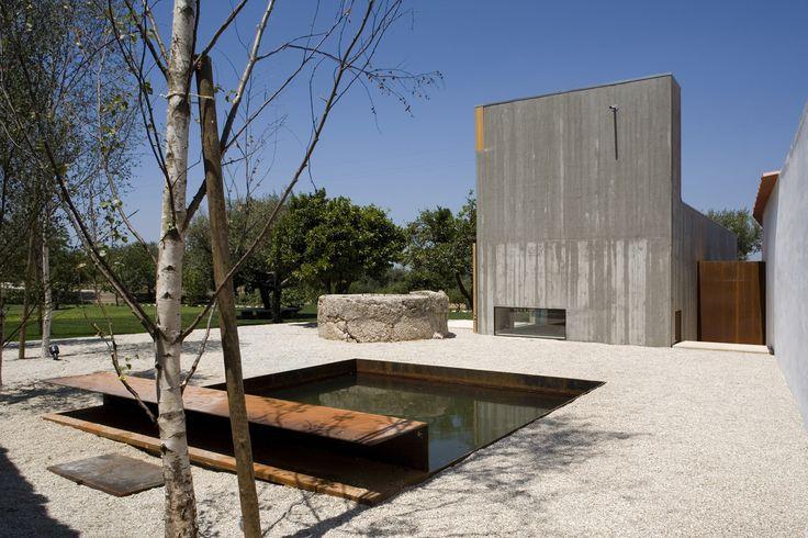 Extension and renovation // Vaz Pais house // João Mendes Ribeiro Arqo // Coimbra 2005 | Lourenço Andrade | Archinect