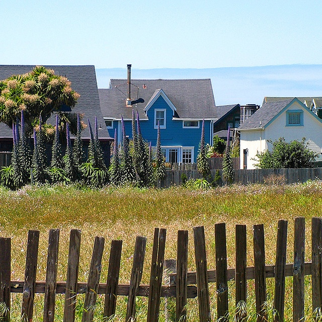 Cottages At Portuguese Flats, Mendocino, California, Rita Crane Photography  I Have Painted This Several Times.This Is At The End Of Town, Love This  Sight.