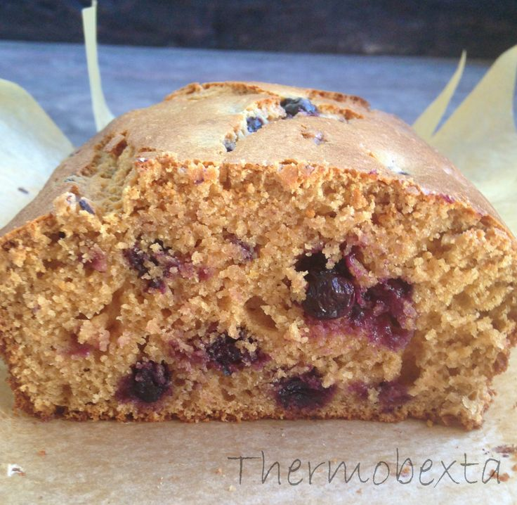 Thermobexta's Brilliant Blueberry Lemon Loaf
