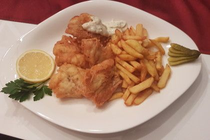 Fish & Chips with Tatar sauce 1