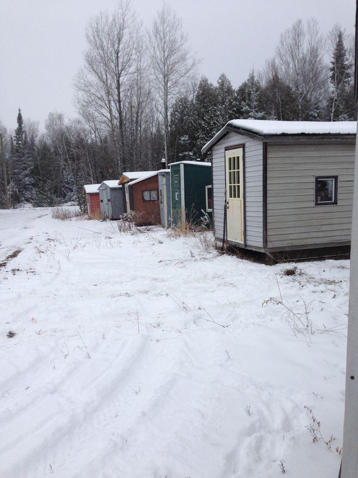 Before freeze up Net Lake Ontario Canada