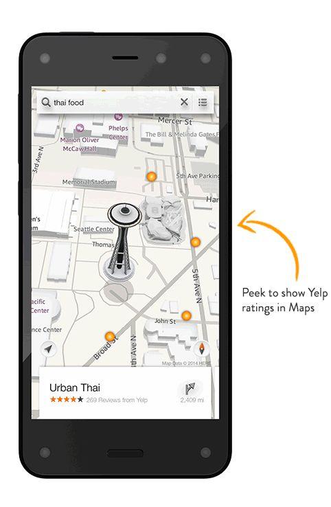 Smartphone-ul Amazon Fire Phone lansat oficial; acesta vine cu 4 camere frontale și interfață 3D