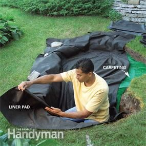 How to Build a Low-Maintenance water feature!!