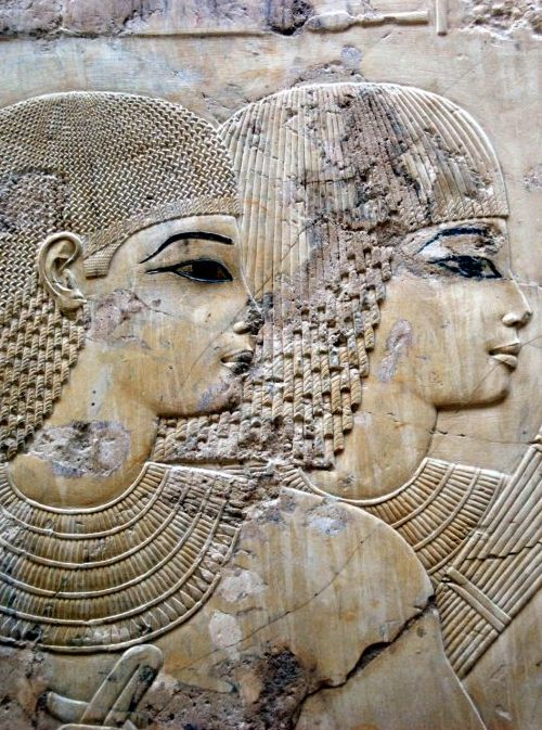 Detail from the tomb of Ramose, Sheikh Abd el-Qurna, Thebes