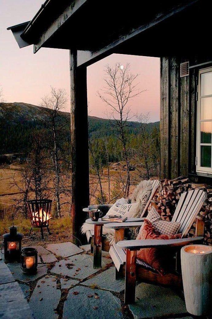 Wunderbare Winterdekor Ideen für Balkone und Terrassen