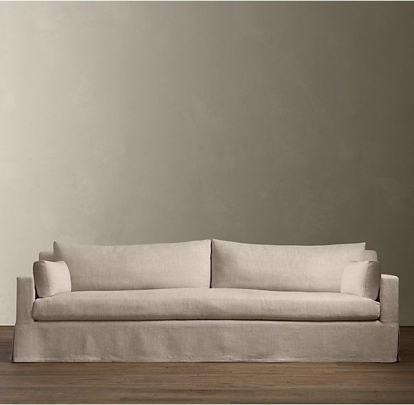 Restoration Hardware 6ft Belgian Track Arm Linen Sofa - Best 20+ Linen Sofa Ideas On Pinterest Linen Couch, White Corner