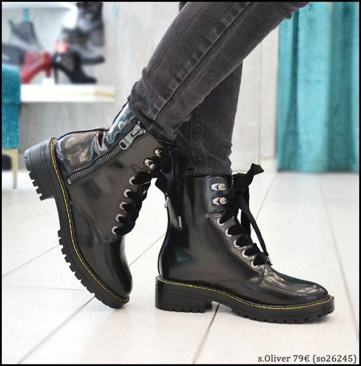Μποτάκι s.Oliver >> http://bit.ly/2ittLJI   Τηλεφωνικές παραγγελίες 2104953803   www.ninadamas.gr  Δωρεάν μεταφορικά και αντικαταβολή άνω των 60  Πληροφορίες για παραγγελίες --> http://bit.ly/2zfuqrJ #ninadamas #shoes #soliver #boots #fw2017
