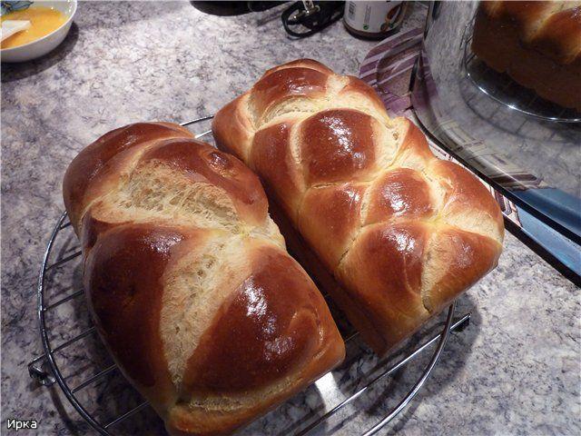 Выпечка хлеба и мои любимые рецепты - Бриошь на закваске