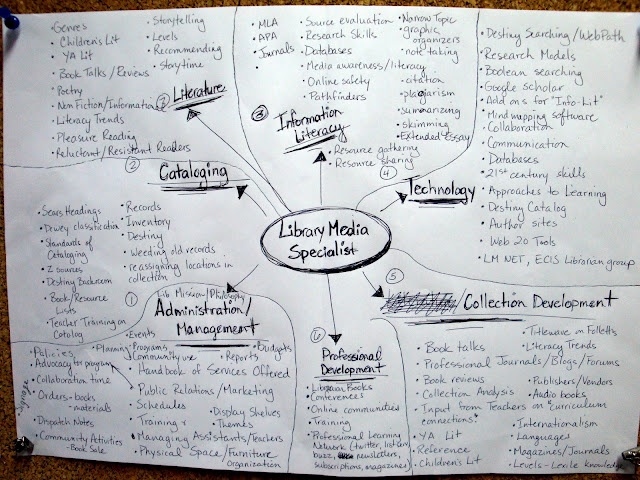 What do Librarians do all day? graphic organizer