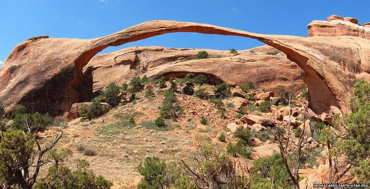 Landscape Arch - There are more than 2,000 arches in Utah's Arches National Park