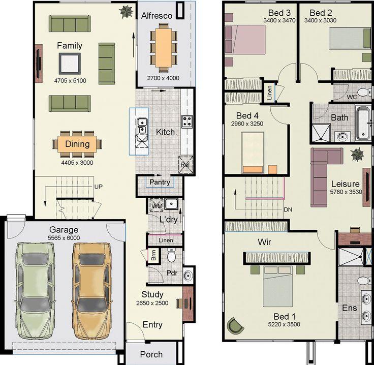 Casa con hermoso diseño moderno con 4 dormitorios y 2 garajes-2