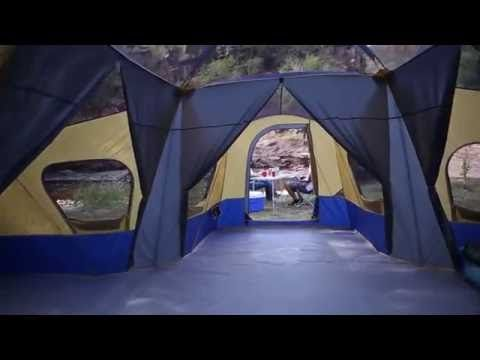 Ozark Trail Base Camp 14 Person Cabin Tent 3 Room Family