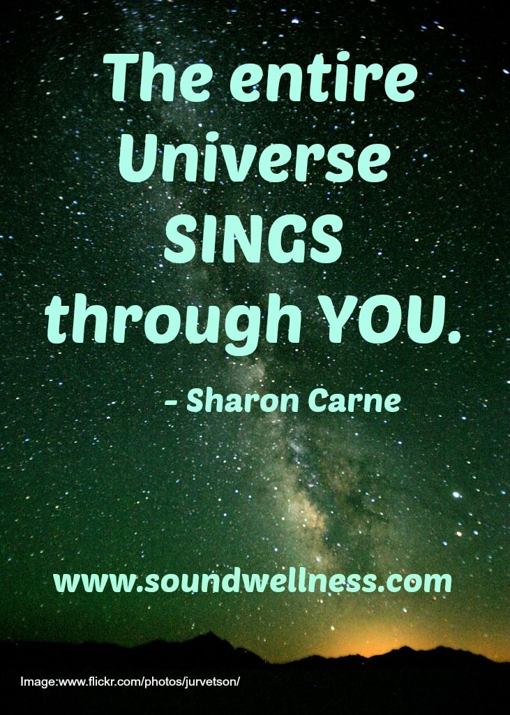 Life is such a miracle!  From Sharon Carne www.soundwellness.com ❤ #WUVIP