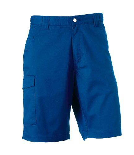 Russell Mens Workwear Shorts Bright Royal 42 Waist