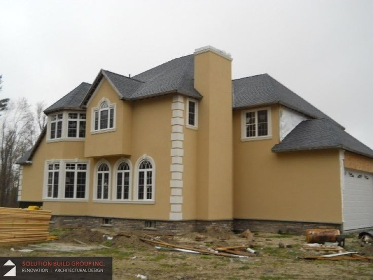 14 best stucco images on pinterest mobile home mobile for Stucco modular homes