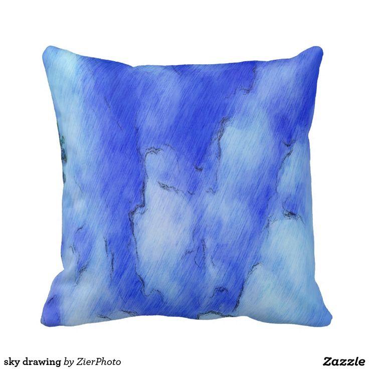 sky drawing pillows