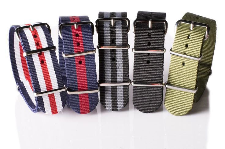 NATO straps. Transform all your watches for the summer for £17!
