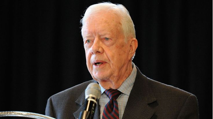 The 39th president said the 'Citizens United' ruling 'violates the essence of what made America a great country in its political system' http://www.rollingstone.com/politics/videos/jimmy-carter-u-s-is-an-oligarchy-with-unlimited-political-bribery-20150731
