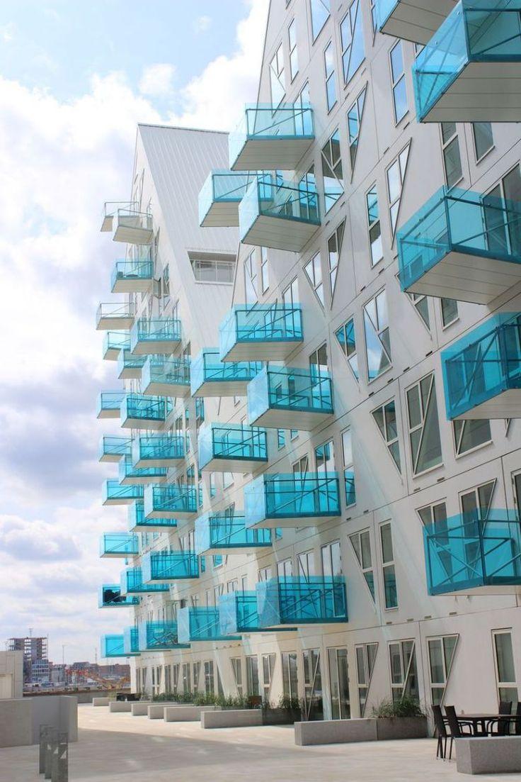 Amazing Apartment Building Facade Architecture Design 37 - Isbjerget/Iceberg, Aarhus, Denmark