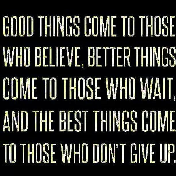 Persistence Motivational Quotes: The O'jays, Wells And