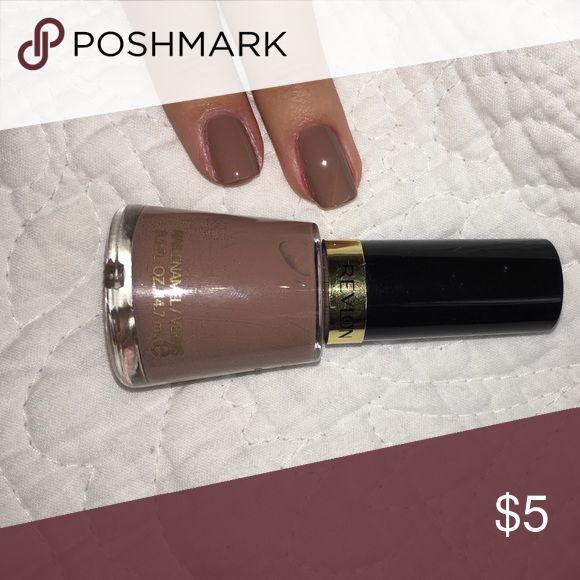 "Revlon Nail Polish ""320 Serene"" Super pretty coffee brown for fall. Revlon Makeup"