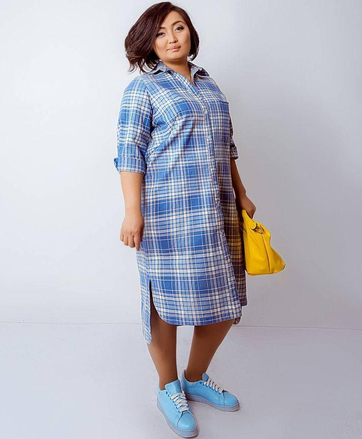 Платье-рубашка должна быть в гардеробе у каждой женщины. Это удобная и практичная одежда для повседневной жизни и отдыха!  Размеры: 52, 54. Стоимость: 5000 сом.