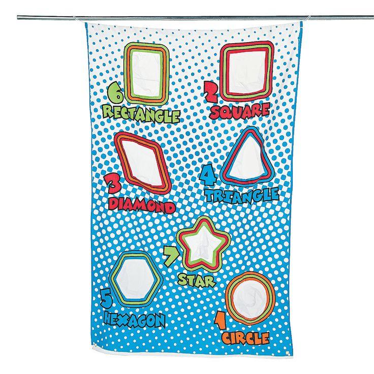 Geometric Bean Bag Toss Game - OrientalTrading.com