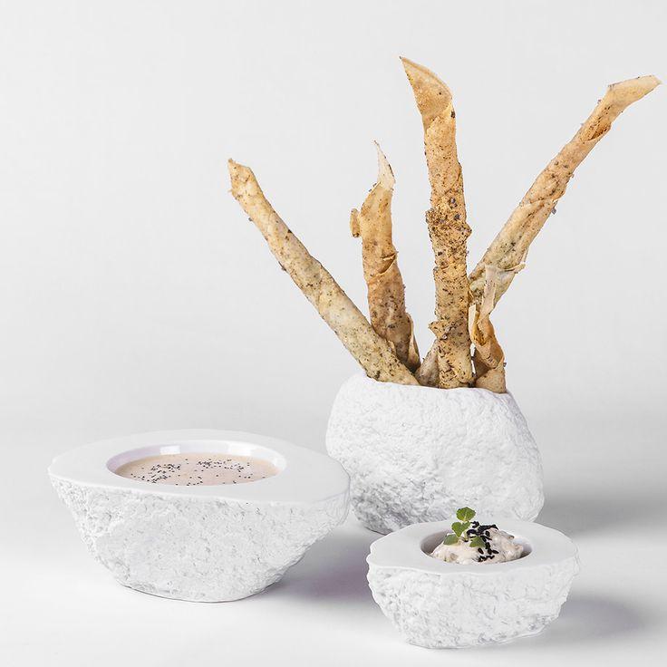 Pordamsa Roca thermal bowl mat/gloss 10x8cm 35ml