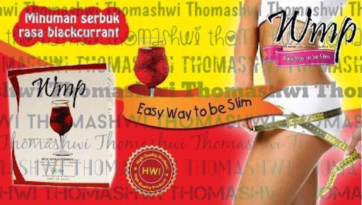 WMP merupakan minuman dengan rasa blackcurrant. Berfungsi menurunkan berat badan dan membentuk badan dengan cara meningkatkan metabolisme tubuh dan pembakaran lemak, karena menggunakan bahan dasar seperti Kopi Hijau + Gojiberry + Acaiberry + L-Carnitin yang bahkan sudah direkomendasi Oprah Winfrey Show dan dr.Oz Indonesia. Cukup diminum stgh jam sebelum makan atau berolahraga. Turun 2-5 kg secara sehat alami sekarang juga! Minat? Thomaschandra1 (line) / @Thomashwi (ig) / 081287772304 (wa)