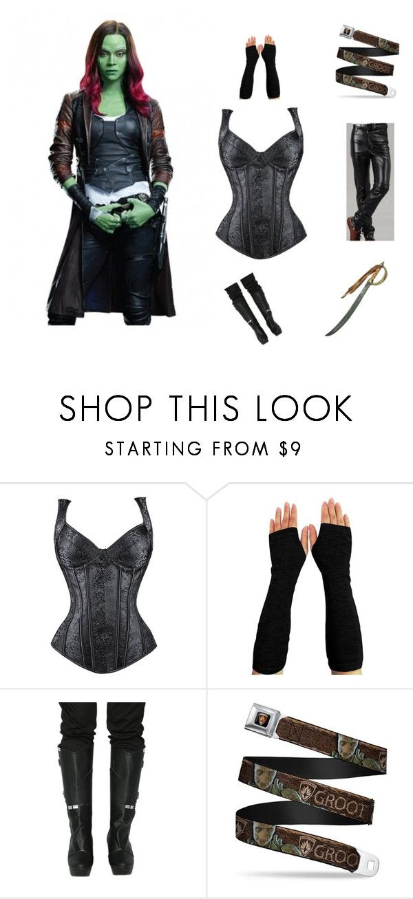 """""""Fantastic Guardians OF The Galaxy 2 Gamora Jacket"""" by moviesjacket ❤ liked on Polyvore featuring shopping, jacket, starwars, Costume and fashionset"""
