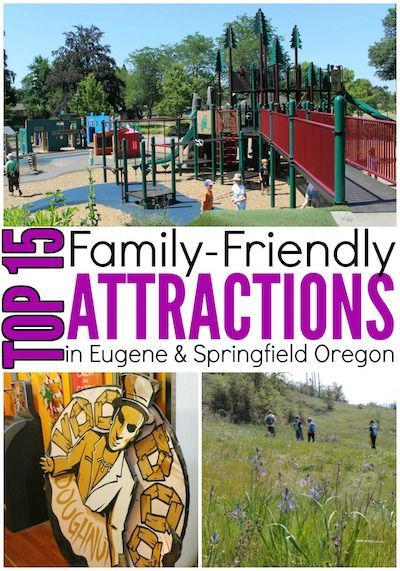 Top 15 Family-Friendly Attractions in Eugene and Springfield, Oregon   Road Trips For Families