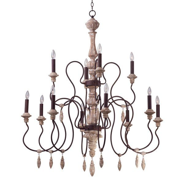 Valmer 12-Light Candle Style Chandelier