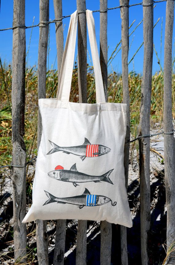 Off-white bag tote bag Sardines & cotton Co.