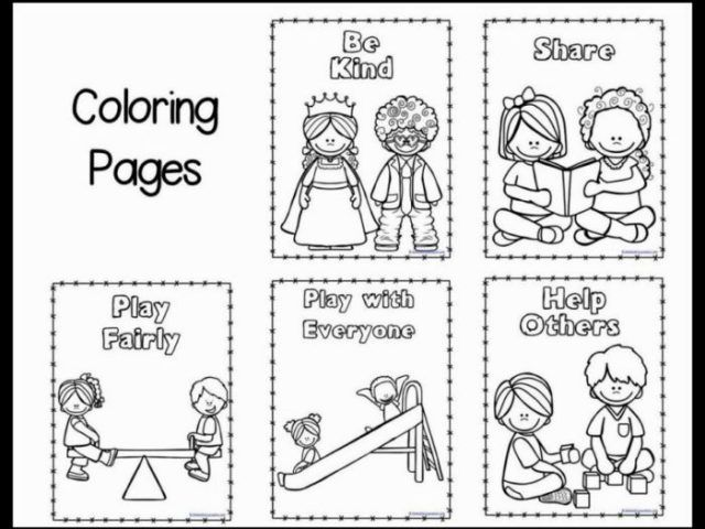 Manners Coloring Pages Perfect Good Manners Coloring Pages Kindness Activities Coping Skills Activities Manners Preschool