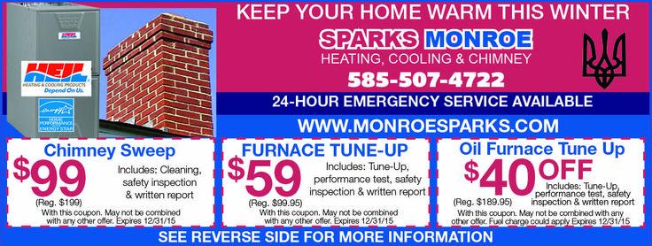 Sparks Monroe Heating Cooling Heat Oil Furnace