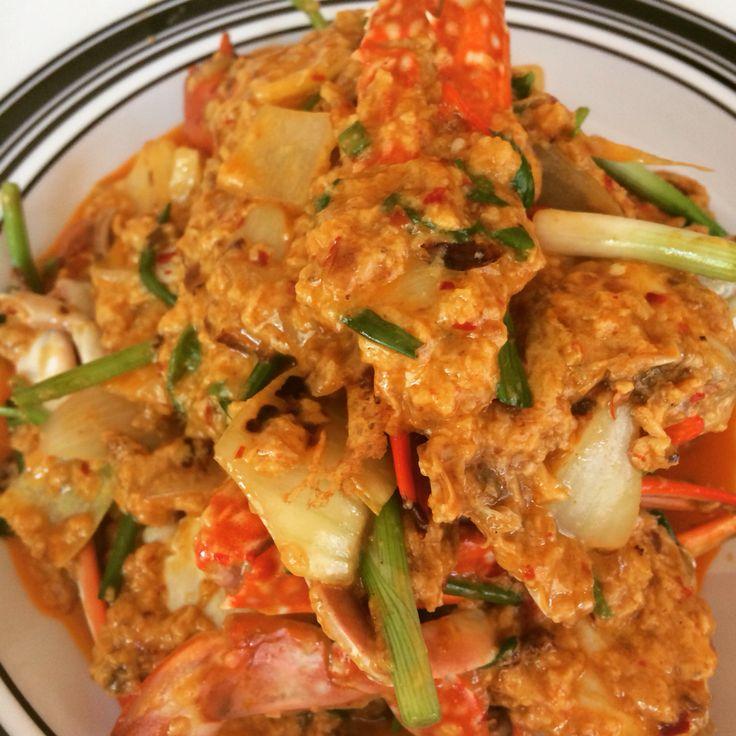 curry crab yummmm
