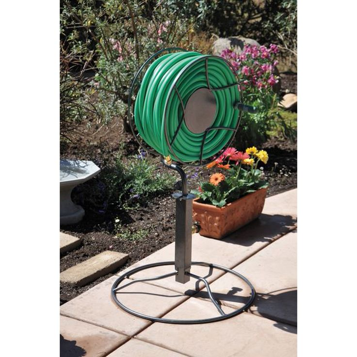 "Lewis Tools For Life SRPB360 40"" Steel Swivel Hose Reel"